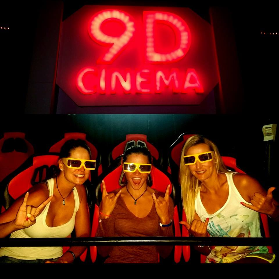 9D cinema