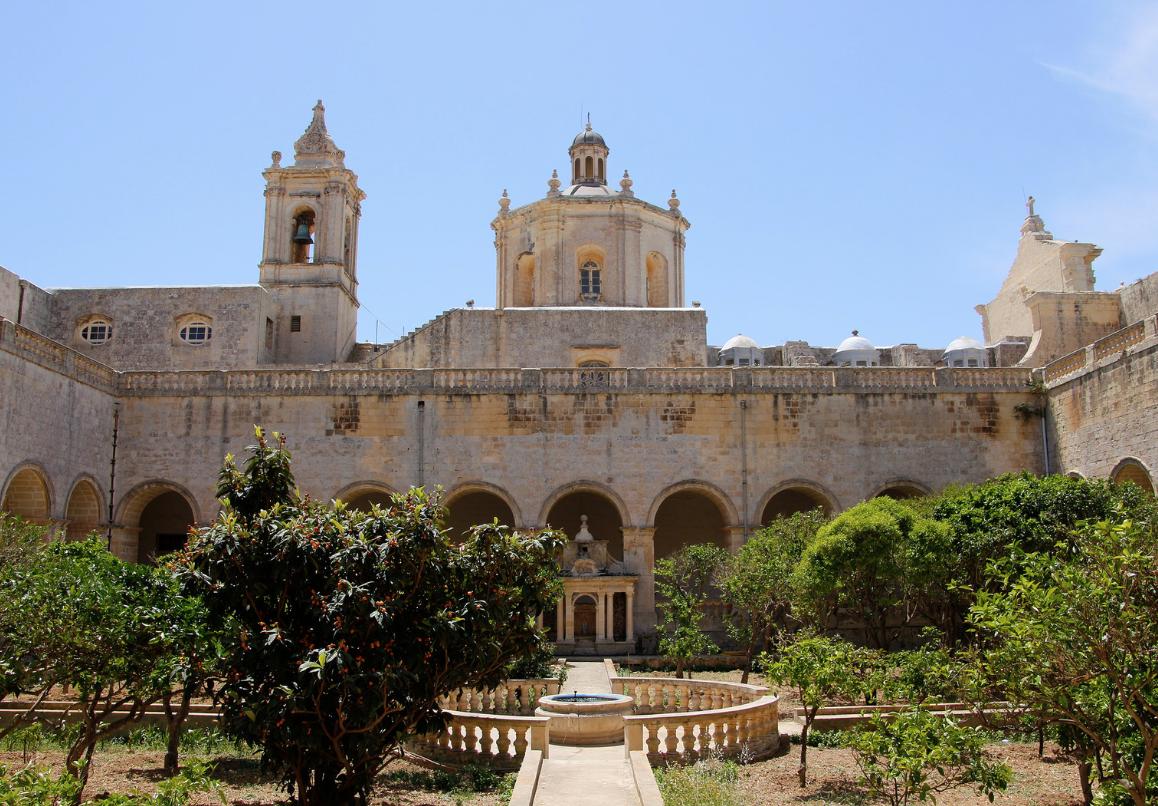 st. Dominik Monastery in Rabat